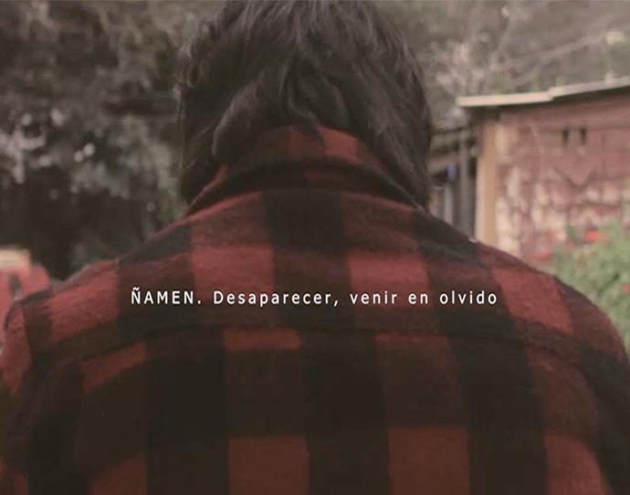 Ñamen. Desaparecer, venir en olvido. Video / 2018