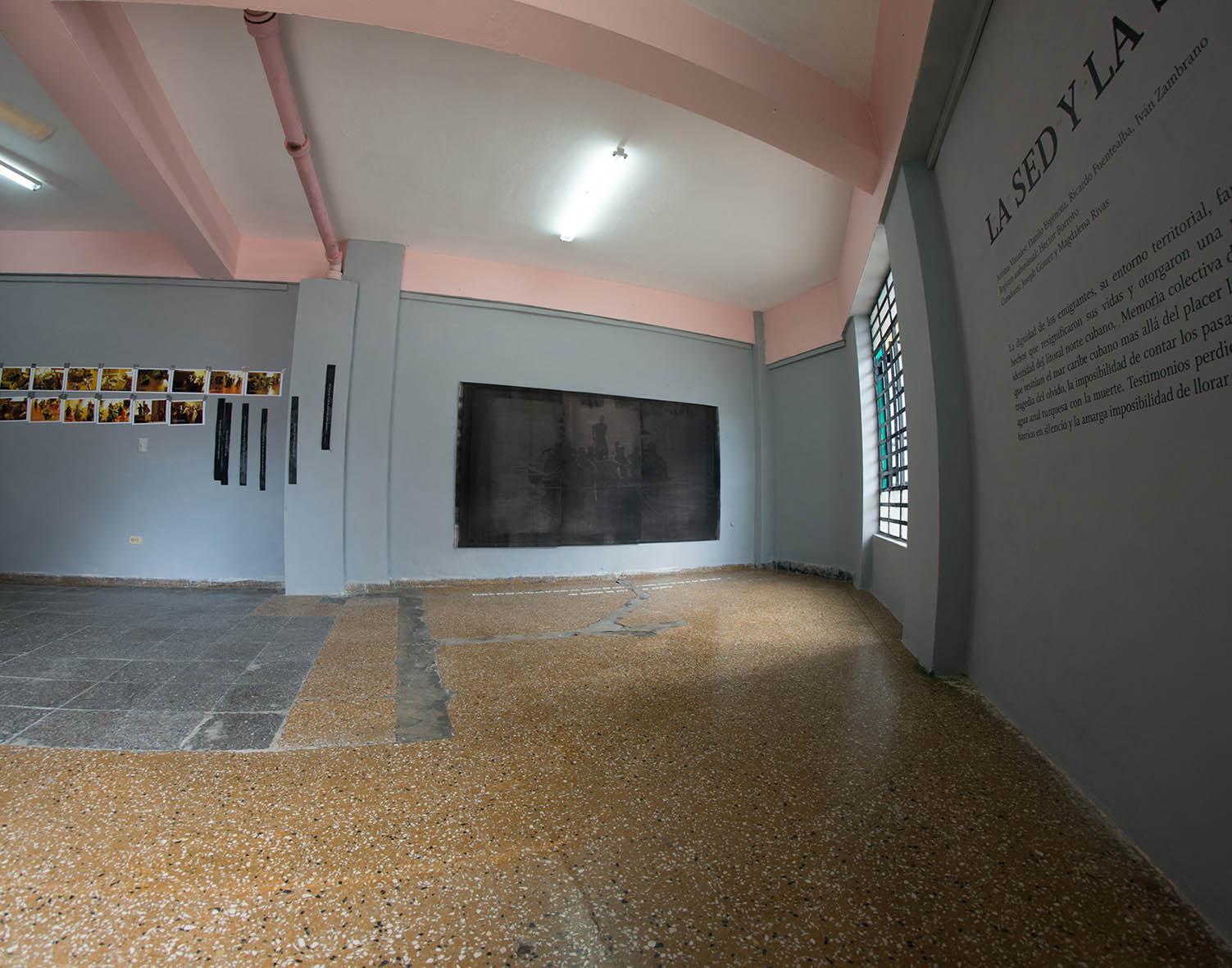Exposición La sed y la sal / 2019